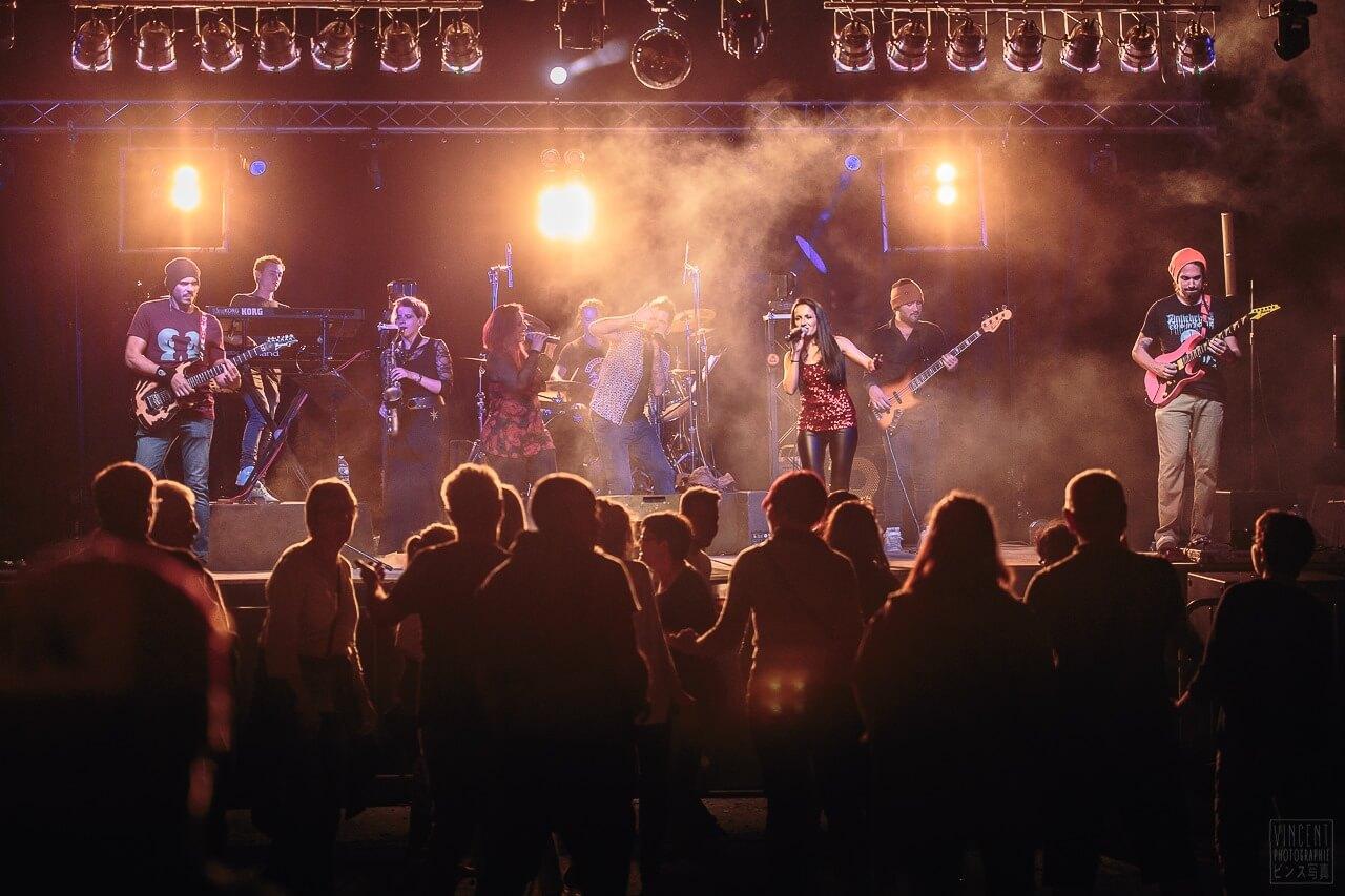 Production vidéo Montpellier orchestre - vue des chanteurs
