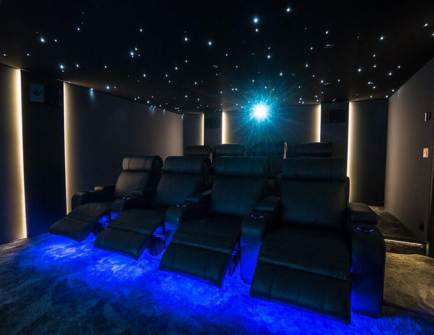 salle de cinéma privée Multizone