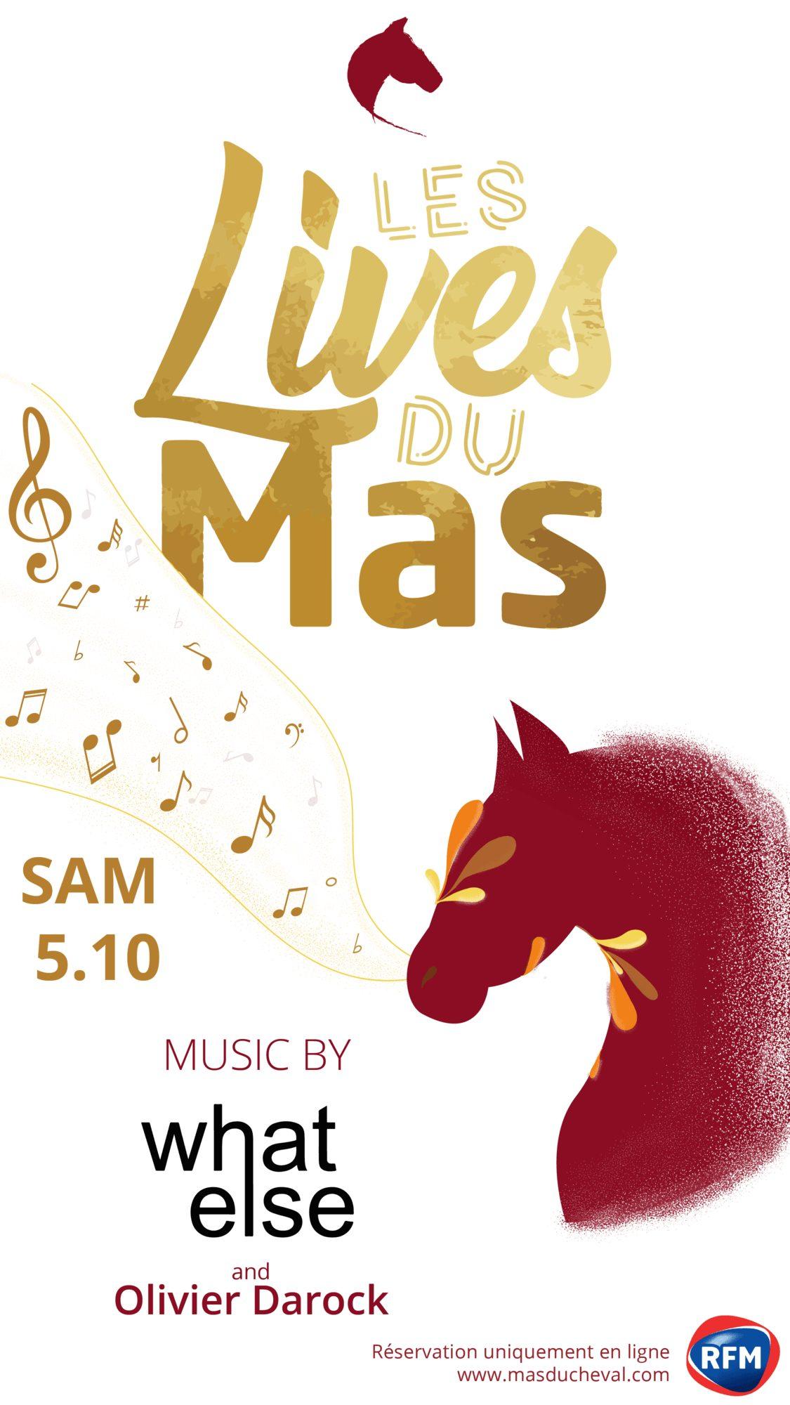 Visuel Soirée Mas du Cheval Montpellier